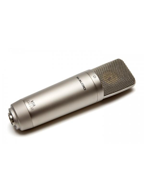 m audio nova large capsule cardioid microphone with xlr cable pro audio. Black Bedroom Furniture Sets. Home Design Ideas